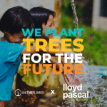 Lloyd Pascal Teams up with One Tree Planted